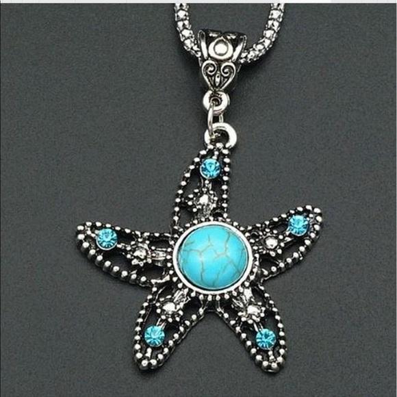 Jewelry - Brand New starfish necklace
